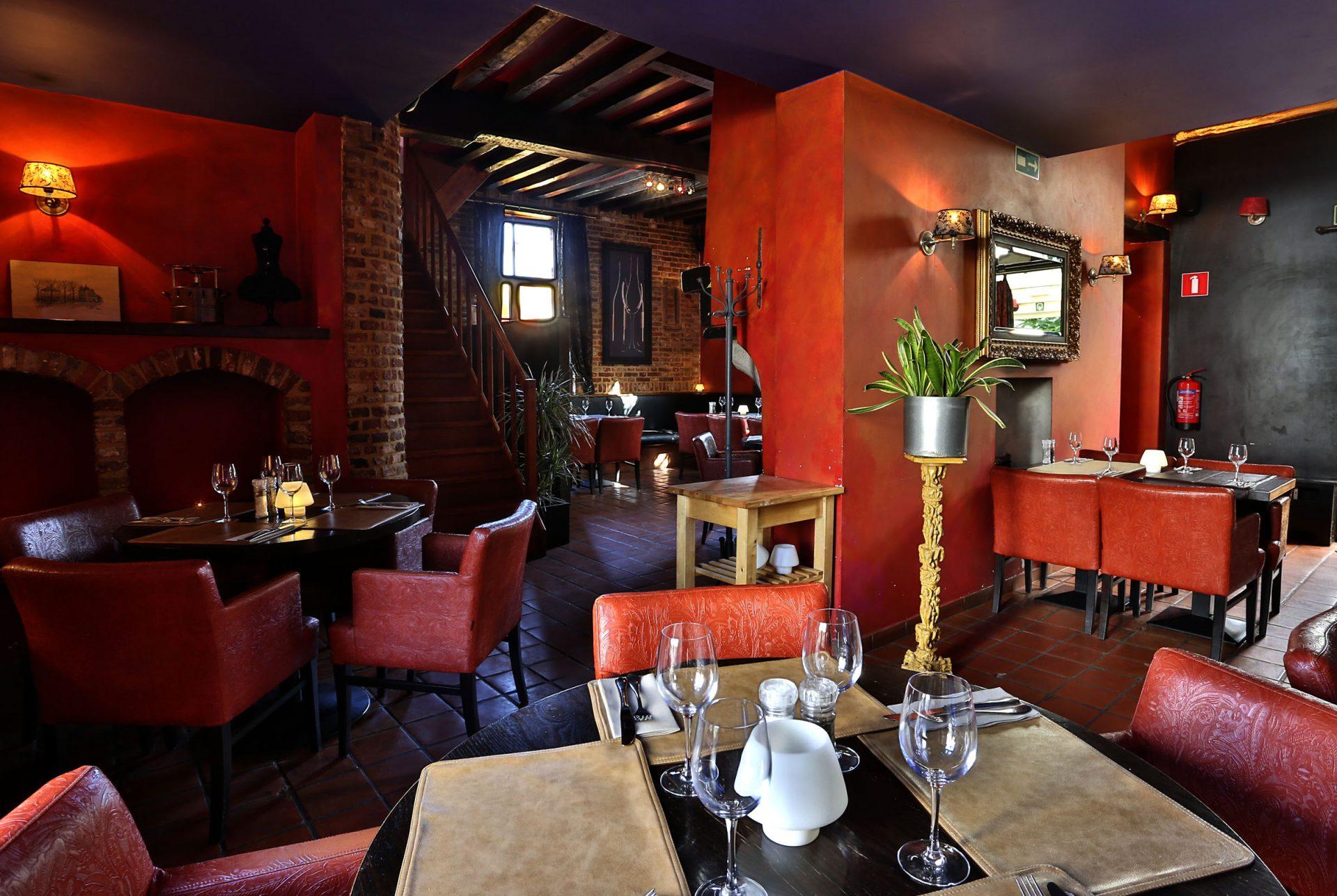 Salle du restaurant Zwarte Fles